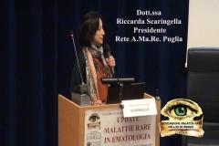 Dott.ssa Riccarda Scaringella – Presidente Rete A.Ma.Re. Puglia